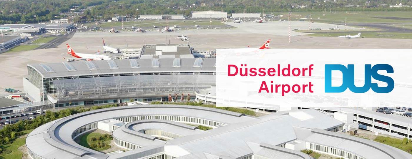 Taxi Arnhem Düsseldorf Airport brengt u 24/7 comfortabel naar het vliegveld